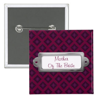 Diamantes del terciopelo (púrpuras) (boda) pin