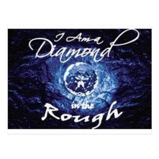 Diamantes en bruto postal