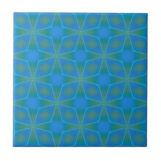 Diamantes en turquesa azulejo cerámica