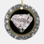 diamantes en un círculo ornamentos de reyes