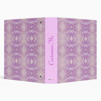 "Diamantes etéreos (cuarzo color de rosa) carpeta 1 1/2"""