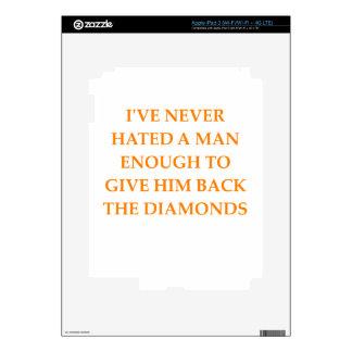 DIAMANTES iPad 3 PEGATINAS SKINS