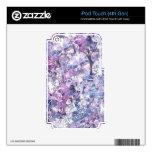 diamantes iPod touch 4G skin