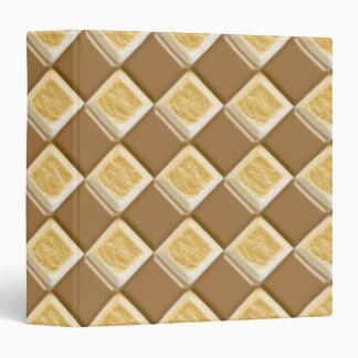 "Diamantes - melcocha del chocolate carpeta 1 1/2"""