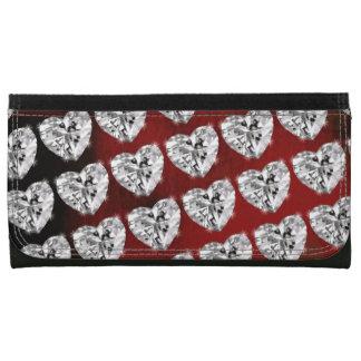 diamantes modelados del corazón