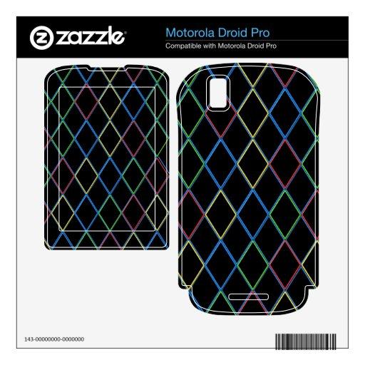 Diamantes Motorola Droid Pro Skins