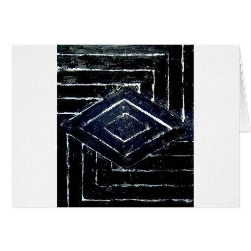 Diamantes negros tarjetón