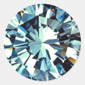 Diamantes Pegatinas Redondas
