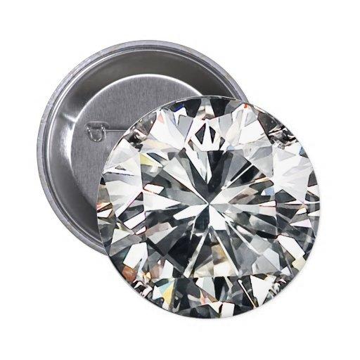 Diamantes Pin Redondo De 2 Pulgadas