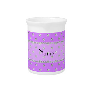 Diamantes púrpuras en colores pastel conocidos per jarras