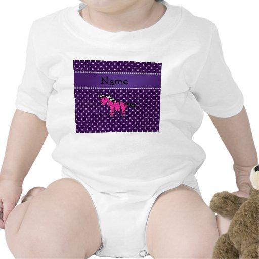 Diamantes rosados conocidos personalizados de la p camisetas