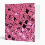 Diamantes rosados metálicos brillantes de Bling