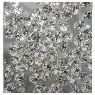 diamantes servilletas imprimidas
