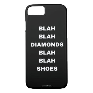 diamantes sosos sosos de los zapatos funda iPhone 7