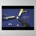 Diamantes y armas poster