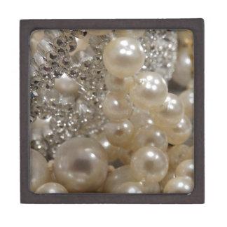 Diamantes y perlas cajas de regalo de calidad