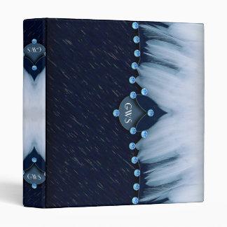 """Diamantes y plumas de los azules claros carpeta 1"""""""