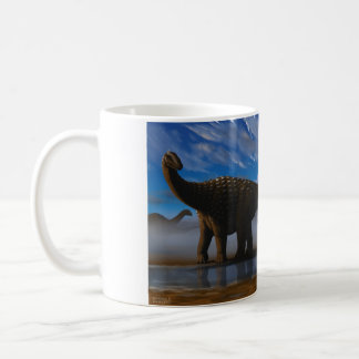Diamantinasaurus and Australovenator Mug