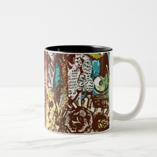 Diámetro 15oz de Una. taza de café interior del ne