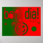¡Diámetro de Bom! La bandera de Portugal colorea a Impresiones