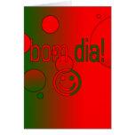 ¡Diámetro de Bom! La bandera de Portugal colorea a Tarjeta