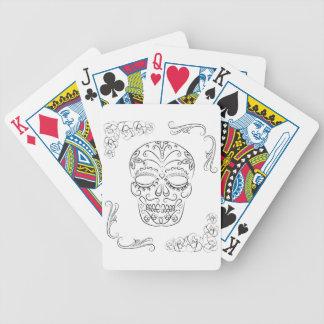 Diámetro de los muertos baraja cartas de poker