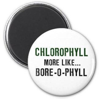 Diámetro interior-o-phyll de la clorofila imanes de nevera