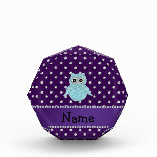 Diamon bling personalizado de la púrpura de los di