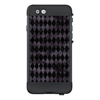 DIAMOND1 BLACK MARBLE & BLACK WATERCOLOR LifeProof NÜÜD iPhone 6 CASE