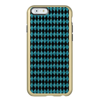 DIAMOND1 BLACK MARBLE & BLUE-GREEN WATER INCIPIO FEATHER SHINE iPhone 6 CASE