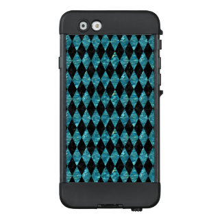 DIAMOND1 BLACK MARBLE & BLUE-GREEN WATER LifeProof NÜÜD iPhone 6 CASE