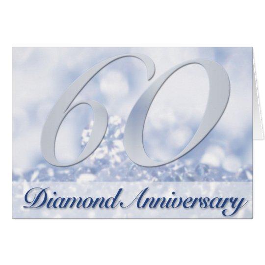 Diamond (60th) Gems Anniversary Invitation