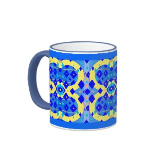 Diamond Abstract zazzle_mug