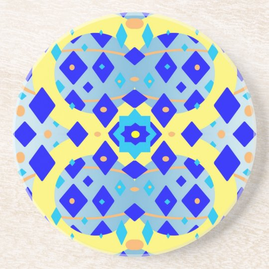 Diamond Abstract Sandstone Coaster
