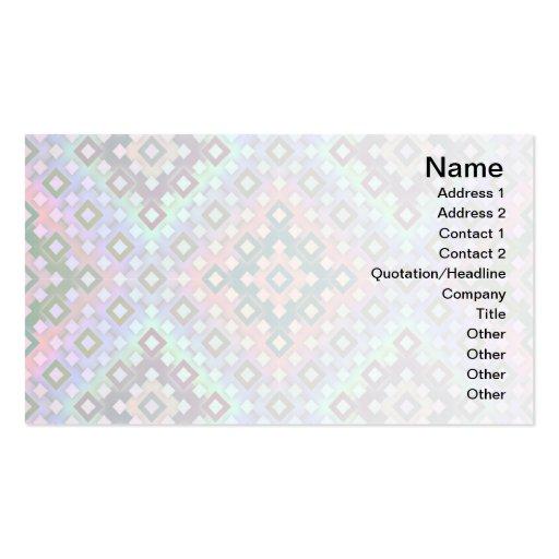 Diamond Alternate Business Cards