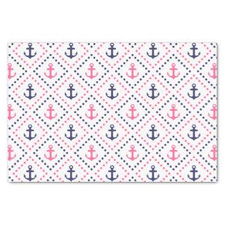 "Diamond Anchor NP 10"" X 15"" Tissue Paper"