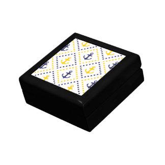 Diamond Anchor NY Keepsake Box