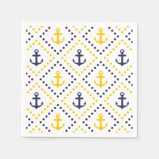 Diamond Anchor NY Paper Napkin