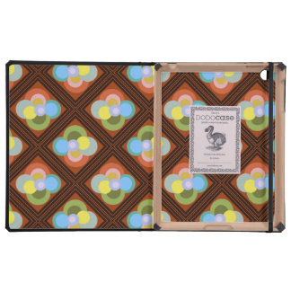 Diamond and Abstract Floral Dodo Ipad Case