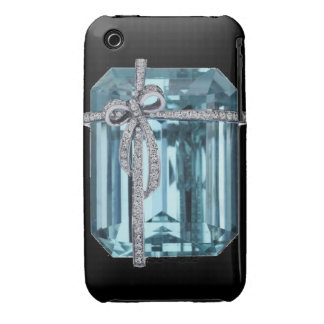 Diamond and Emerald Blackberry Curve  Case-Mate Ca iPhone 3 Covers