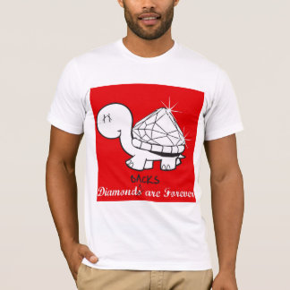 """""""Diamond(back)s Are Forever"""" Mens - Red T-Shirt"""