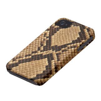 Diamond Back Snake Skin iPhone 4 Cover