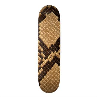 Diamond Back Snake Skin Skateboard