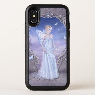 Diamond Birthstone Butterfly Fairy OtterBox Symmetry iPhone X Case