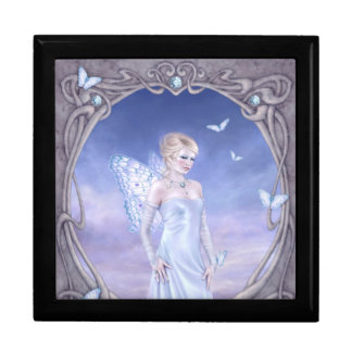 Diamond Birthstone Fairy Keepsake Box