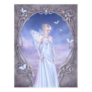 Diamond Birthstone Fairy Postcard