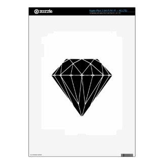 Diamond black iPad 3 skins
