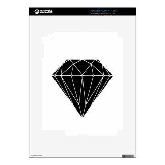 Diamond black skin para el iPad 2