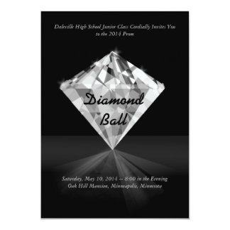 Diamond - Bling Prom Invitations