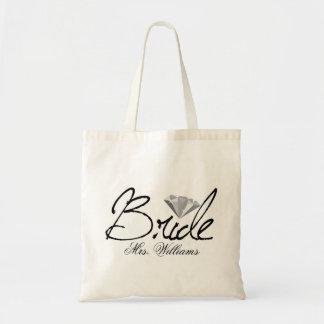 Diamond Bride Canvas Bag